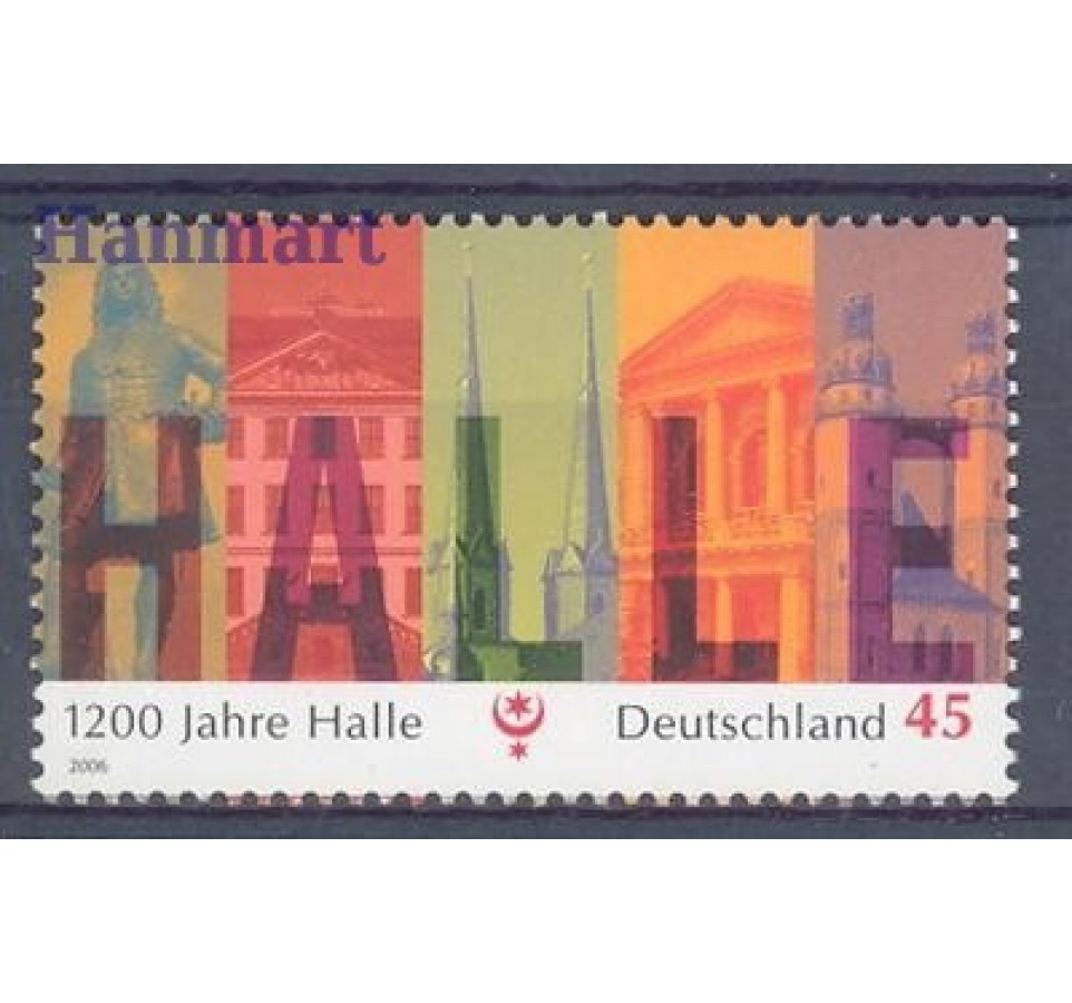 Niemcy 2006 Mi 2510 Czyste **