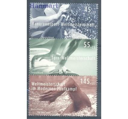 Znaczek Niemcy 2007 Mi 2585-2587 Czyste **