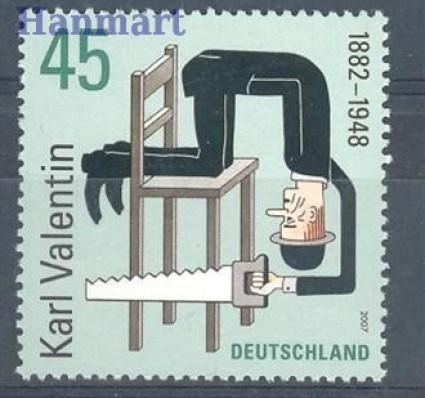 Niemcy 2007 Mi 2610 Czyste **