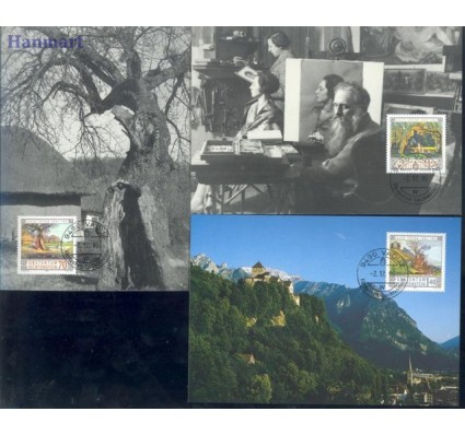 Liechtenstein 1996 Mi 1138-1140 Karta Max