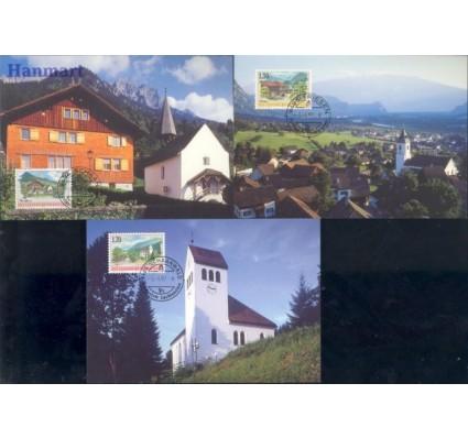 Liechtenstein 1997 Mi 1148-1150 Karta Max