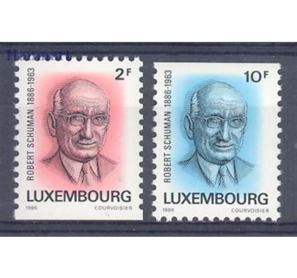 Luksemburg 1986 Mi 1156-1157 Czyste **