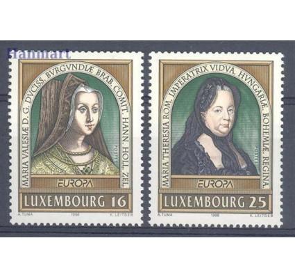 Luksemburg 1996 Mi 1390-1391 Czyste **