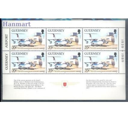 Guernsey 1989 Mi h-blatt 457 Czyste **
