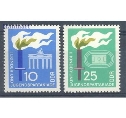 Znaczek NRD / DDR 1968 Mi 1375-1376 Czyste **