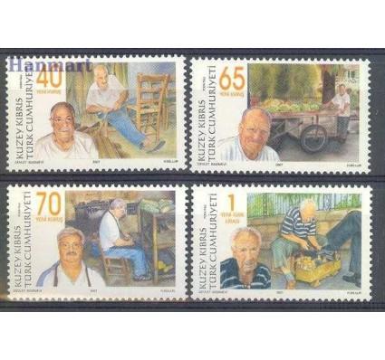 Cypr Północny 2007 Mi 663-666 Czyste **
