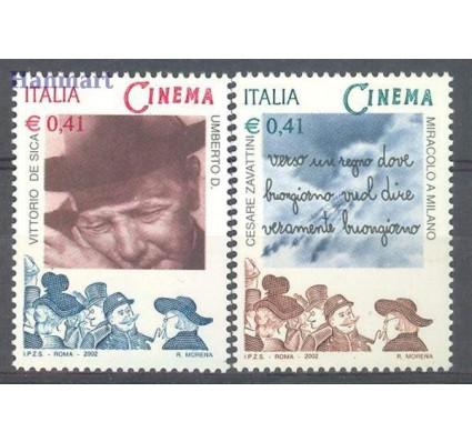 Włochy 2002 Mi 2843-2844 Czyste **