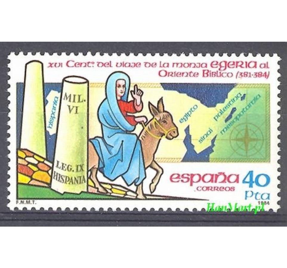 Hiszpania 1984 Mi 2656 Czyste **