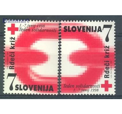 Znaczek Słowenia 1998 Mi 16-17 Czyste **