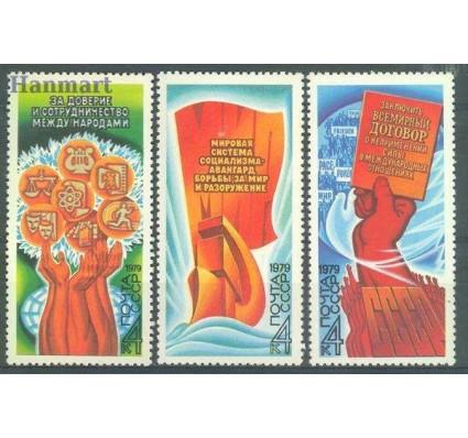 Znaczek ZSRR 1979 Mi 4900-4902 Czyste **