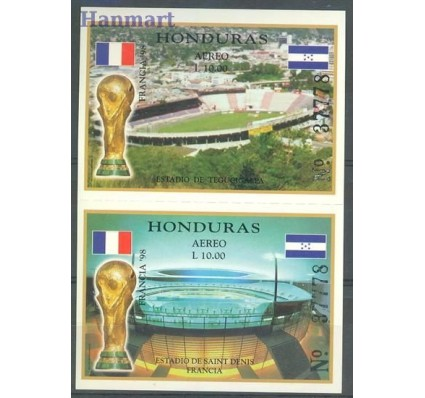 Znaczek Honduras 1998 Mi 61-62 Czyste **