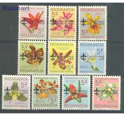 Znaczek Nikaragua 1965 Mi 1397-1406 Czyste **