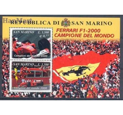 Znaczek San Marino 2001 Mi bl 28 Czyste **