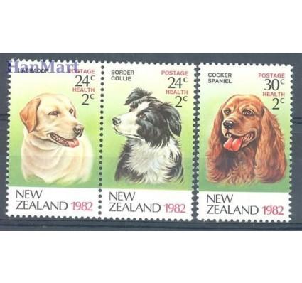 Znaczek Nowa Zelandia 1982 Mi 849-851 Czyste **