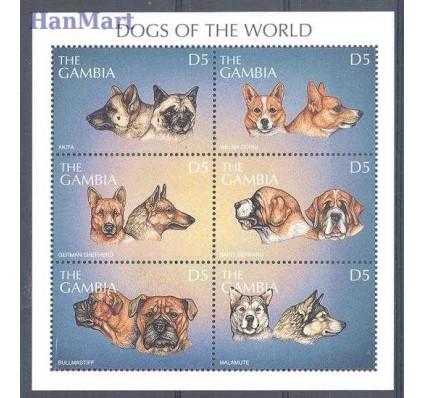 Gambia 1997 Mi 2906-2911 Czyste **