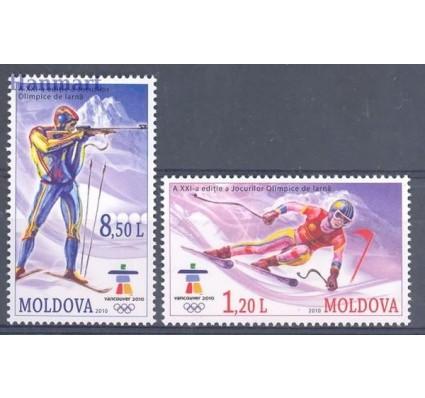 Znaczek Mołdawia 2010 Mi 689-690 Czyste **