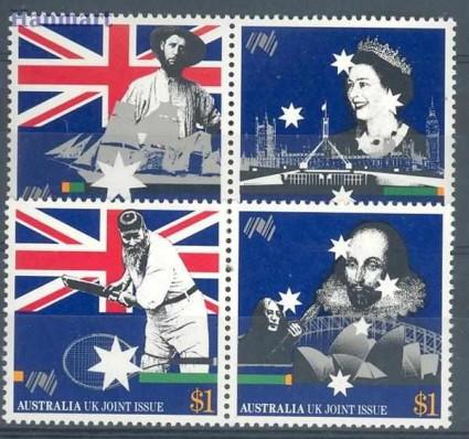 Znaczek Australia 1988 Mi 114-1117I Czyste **