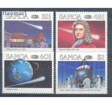 Samoa 1986 Mi 586-589 Czyste **