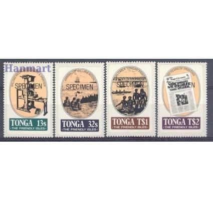 Tonga 1983 Mi spe 861-864 Czyste **