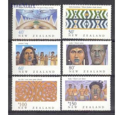 Nowa Zelandia 1990 Mi 1128-1133 Czyste **