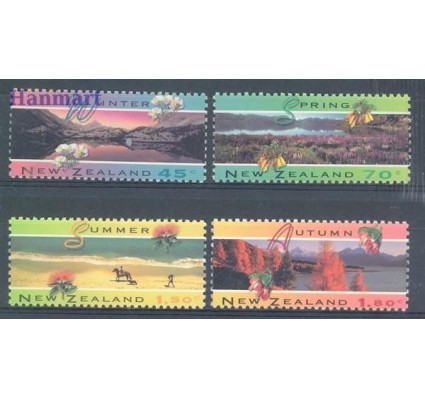 Znaczek Nowa Zelandia 1994 Mi 1340-1343 Czyste **