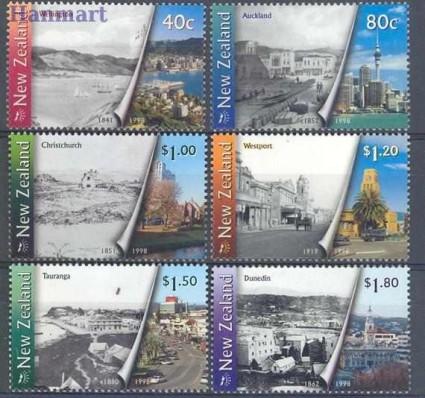 Nowa Zelandia 1998 Mi 1729-1734 Czyste **