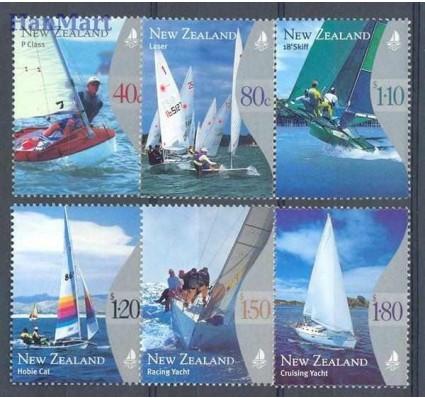 Nowa Zelandia 1999 Mi 1800-1805 Czyste **
