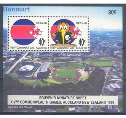 Znaczek Nowa Zelandia 1990 Mi bl 21 Czyste **