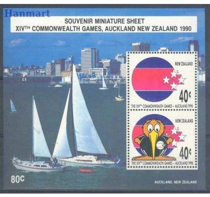 Znaczek Nowa Zelandia 1990 Mi bl 22 Czyste **