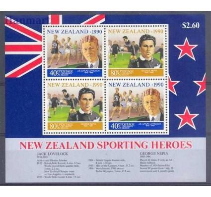 Nowa Zelandia 1990 Mi bl 26 Czyste **