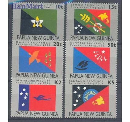 Papua Nowa Gwinea 2001 Mi 910-915 Czyste **