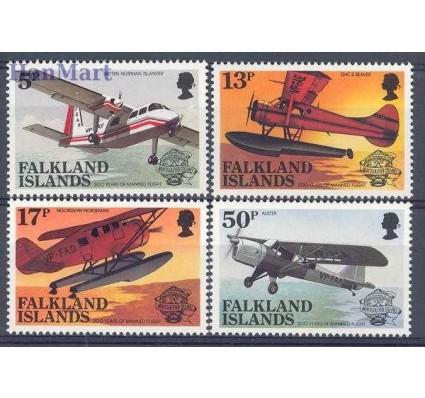 Falklandy 1983 Mi 386-389 Czyste **