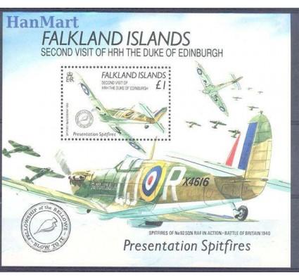 Znaczek Falklandy 1990 Mi bl 7 Czyste **