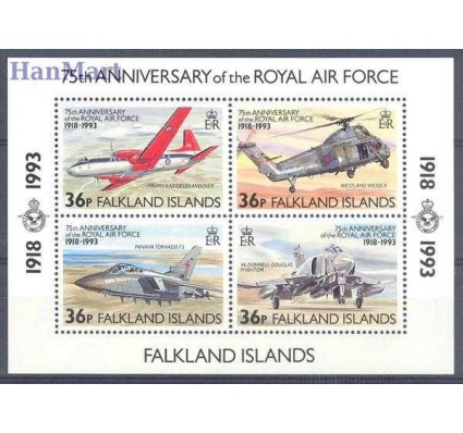 Falklandy 1993 Mi bl 11 Czyste **