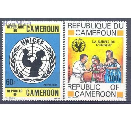 Kamerun 1985 Mi 1083-1084 Czyste **