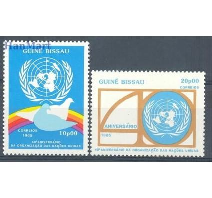 Znaczek Gwinea Bissau 1985 Mi 879-880 Czyste **