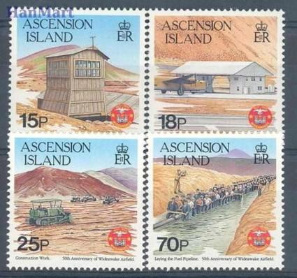 Znaczek Wyspa Wniebowstąpienia 1992 Mi 582-585 Czyste **
