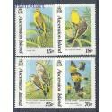 Wyspa Wniebowstąpienia 1993 Mi 598-601 Czyste **