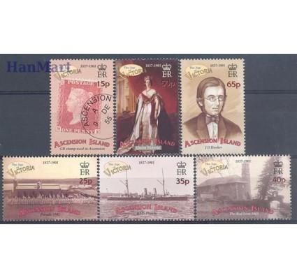 Znaczek Wyspa Wniebowstąpienia 2001 Mi 846-851 Czyste **