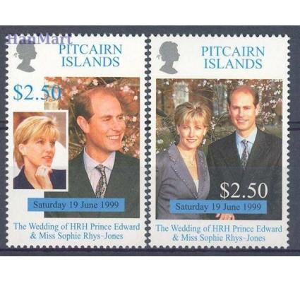 Znaczek Pitcairn 1999 Mi 542-543 Czyste **