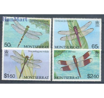 Znaczek Montserrat 1983 Mi 503-506 Czyste **