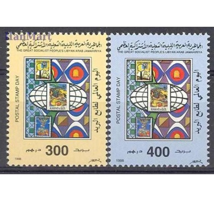 Libia 1998 Mi 2629-2630 Czyste **
