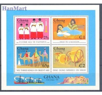 Znaczek Ghana 1979 Mi bl 80 Czyste **