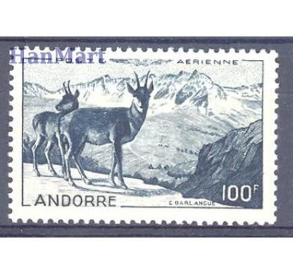 Znaczek Andora Francuska 1946 Mi 141 Czyste **