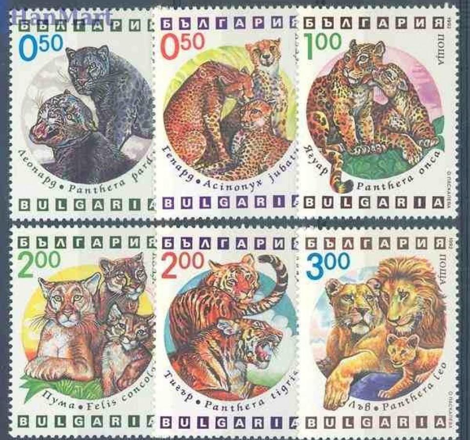 Bułgaria 1992 Mi 4020-4025 Czyste **