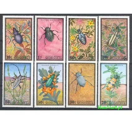 Znaczek Mongolia 1972 Mi 685-692 Czyste **