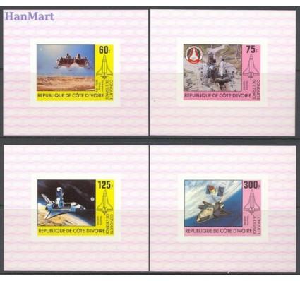 Wybrzeże Kości Słoniowej 1981 Mi 680-683 Czyste **