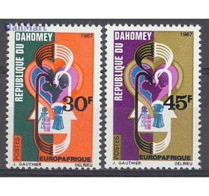 Znaczek Dahomej 1967 Mi 319-320 Czyste **