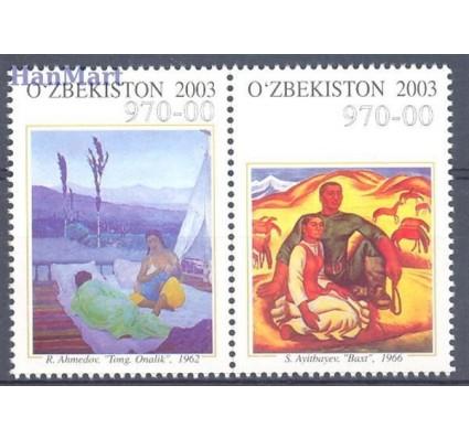 Znaczek Uzbekistan 2003 Mi 534-535 Czyste **