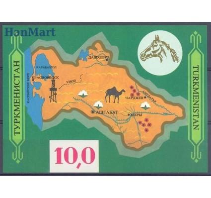 Znaczek Turkmenistan 1992 Mi bl 1 Czyste **
